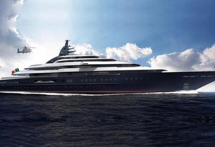 142m Lürssen superyacht Redwood approaching her delivery date