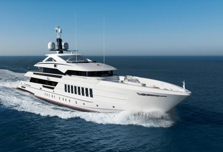 55m Heesen motor yacht Vida delivered