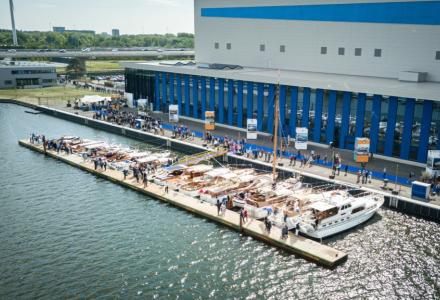 Feadship eco-friendly Amsterdam facility officially opened by Queen Máxima of the Netherlands