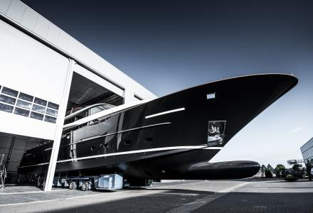 Van der Valk launches 32m raised pilothouse Jangada 2