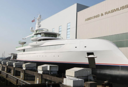 Abeking & Rasmussen launches 80m superyacht Excellence