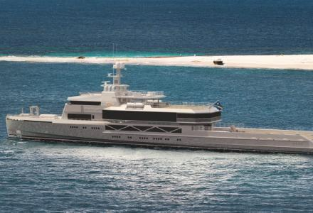 85m explorer Bold: Silver Yachts launches the largest yacht built in Australia