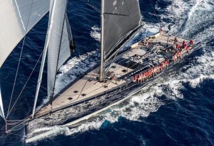 Lost in the seas: 40m Baltic sailing superyacht My Song falls from cargo ship