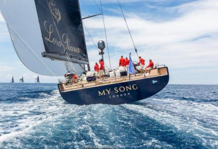 Official statement on the loss of the 40m regatta superstar My Song
