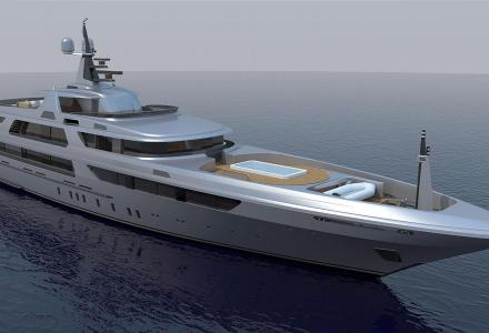 Codecasa launches the 65m flagship Hull F74