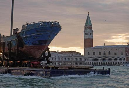 Venice Biennale 2019: when a former yacht literally becomes an artwork