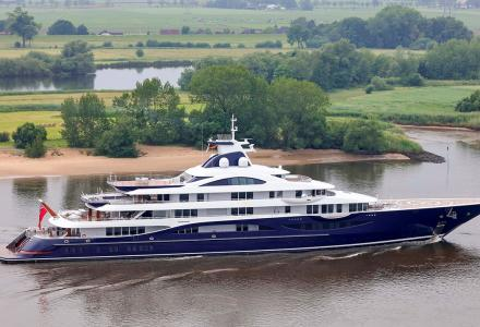 Lürssen delivers 111m superyacht Project TIS