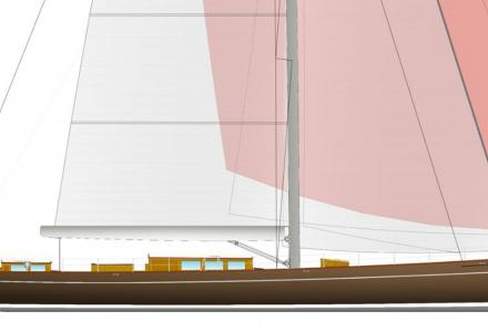 New 39.6 m classic sloop signed by Baltic Yachts and Dykstra Naval Architechts