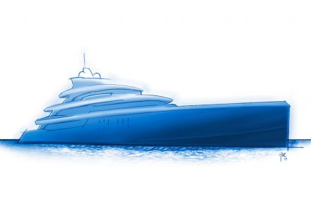 American owner orders new 67m custom Project Fenestra from Benetti
