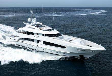 50m Heesen superyacht Masa delivered