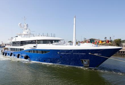 Amels delivers the 55m superyacht Nomad