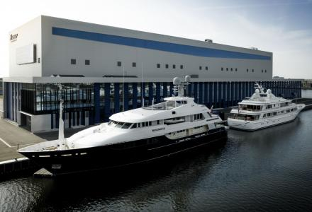 Huisfit to undertake major conversion on 52m Feadship Broadwater