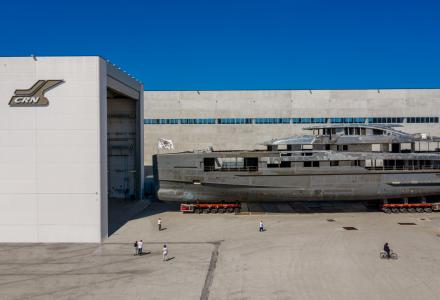 New 62m superyacht 138 taking shape at CRN