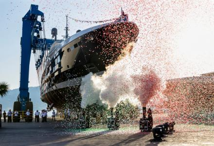 Baglietto launches its largest superyacht Severin°s