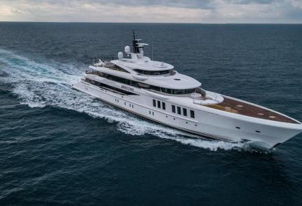 To spy or not to spy: utilities aboard a €65 million James-Bond-inspired superyacht