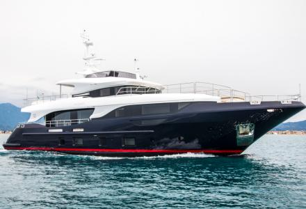 Hat-trick: Benetti celebrates 3 deliveries in the Class category