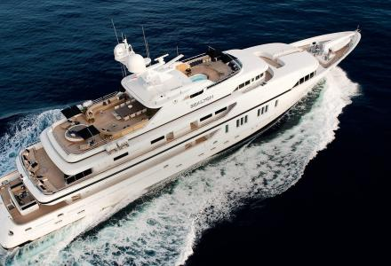The story behind 62m VSY Sealyon once owned by Candy Brothers