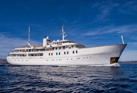 Country for old fleet: the 1960s martime school vessel converted to a superyacht
