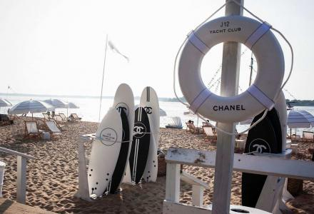 Chanel launches J12 Yacht Club in New York