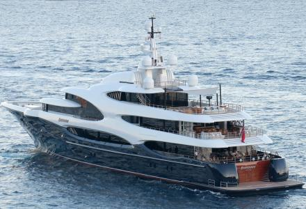 Billionaire's EUR 165 million superyacht Barbara spotted in Monaco