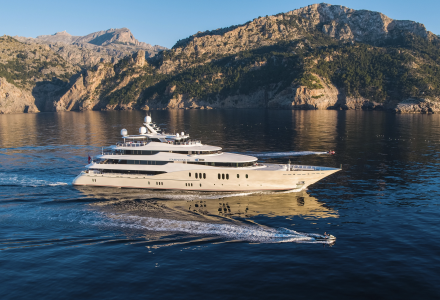 Former Herb Chambers' 78m superyacht Eminence sold asking EUR 80 million