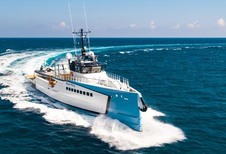 55.5m Damen support yacht B3 delivered