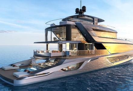 New superyacht concept from the author of extraordinary 150m Shaddai