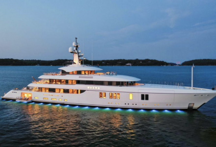 Australian millionaire's 73m superyacht Hasna listed for sale at EUR 98 million