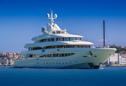 79m Project 135: CRN delivers its second largest superyacht