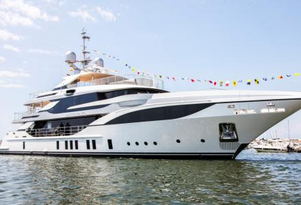Benetti launches 47m superyacht Bacchanal for a Mexican owner