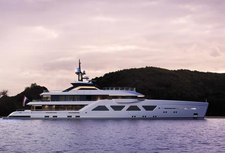 New 60m Espen Oeino superyacht revealed at Amels
