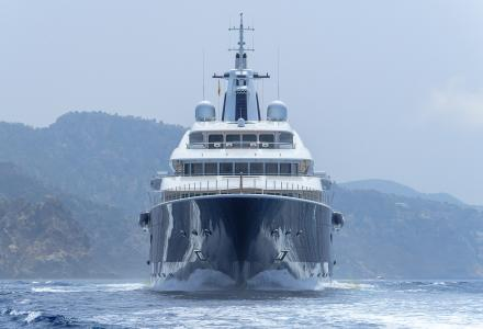 111-meter TIS will be the largest yacht in the history of the Monaco Yacht Show.