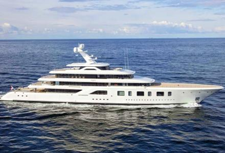 Steve Wynn's 92m superyacht Aquarius listed for sale