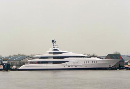 Vanish from Feadship spotted in Gouda