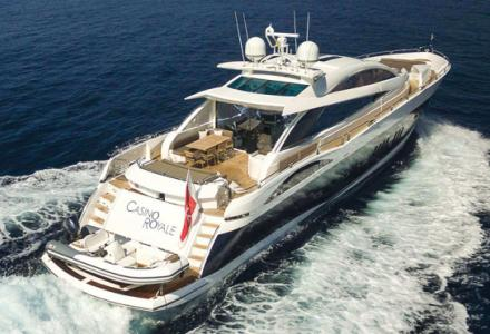 Orignial James Bond superyacht Casino Royale on charter from EUR 65,000