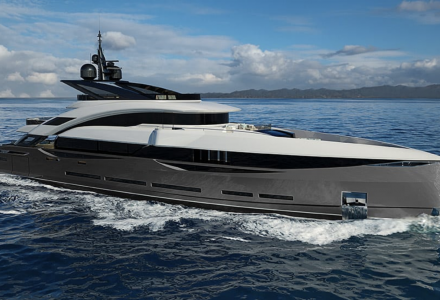 The second 45m ISA GtanTurismo superyacht sold to European customer