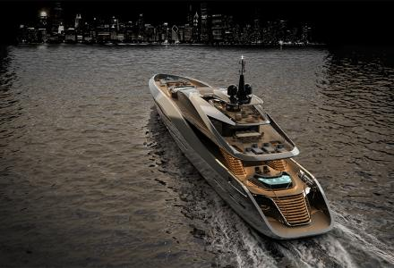 Rossinavi and Pininfarina present 65m Super Sport concept at FLIBS