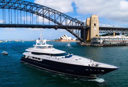 Mischief: Ahoy Club imports largest commercial yacht into Australia