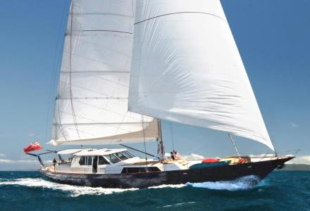 29m sailing yacht Asia sunk in Indonesian waters