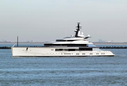 NFL team owner's 109m superyacht Bravo Eugenia heading to Norway