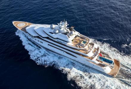 Posh Christmas present: the largest superyachts on sale this winter