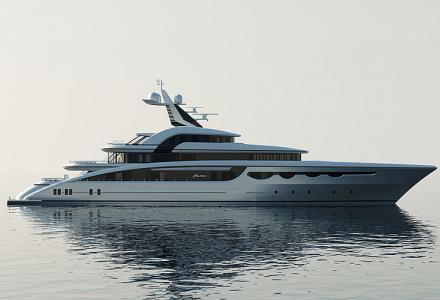 68m Abeking and Rasmussen in-build superyacht Soaring revealed