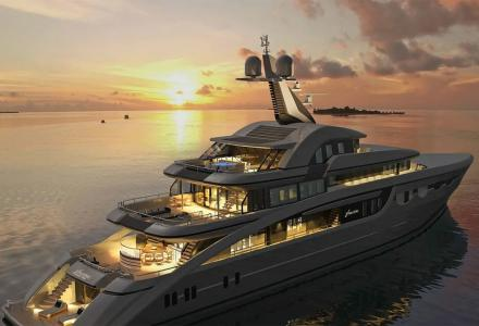 Soaring: 68m Abeking new build set to hit charter market in 2020