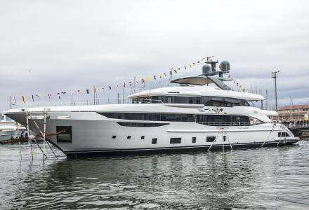 New 144-Foot Diamond 145 by Benetti was launched