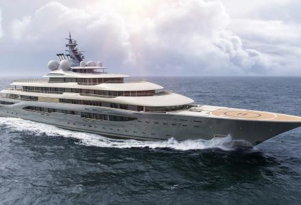 Megayacht builders: Lurssen - inventors of the space