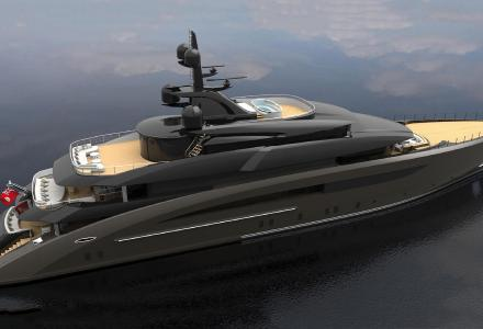 CRN launches 62-m superyacht CRN 137