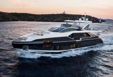 New generation of 20-30 meter yachts: Azimut