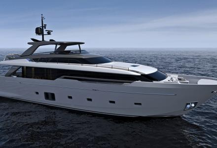 Sanlorenzo SL96A launch and sale 29 meter yacht