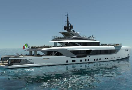 Completion of construction of the 55-m Admiral Geco Superyacht
