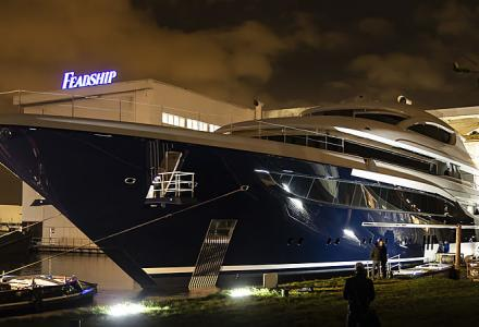 Feadship launches 73m Project 705